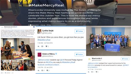 Click here to view the 2016 #MakeMercyReal Storify!