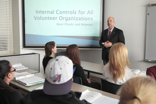 Fred Croop talks about internal controls for all volunteer organizations